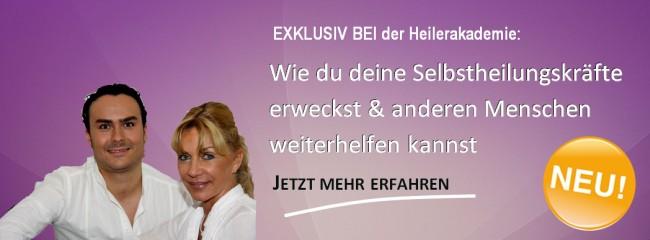Deutsche Heilerschule - Ausbildung Geistiges Heilen - Spirituelles Heilen - Quantenheilung