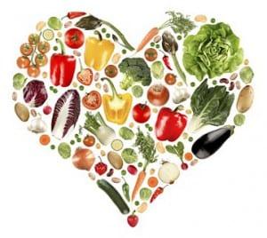 Spirituelles Essen mit Liebe
