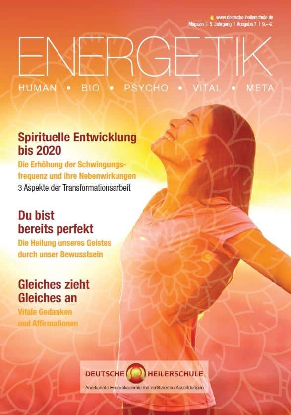 ENERGETIK: Neues Magazin für spirituelles Bewusstsein