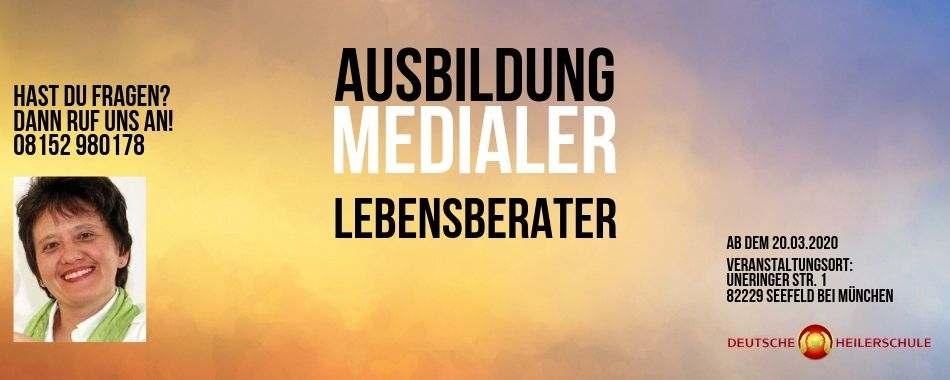 Ausbildung Medialer Lebensberater - Michaela Bader Deutsche Heilrschule