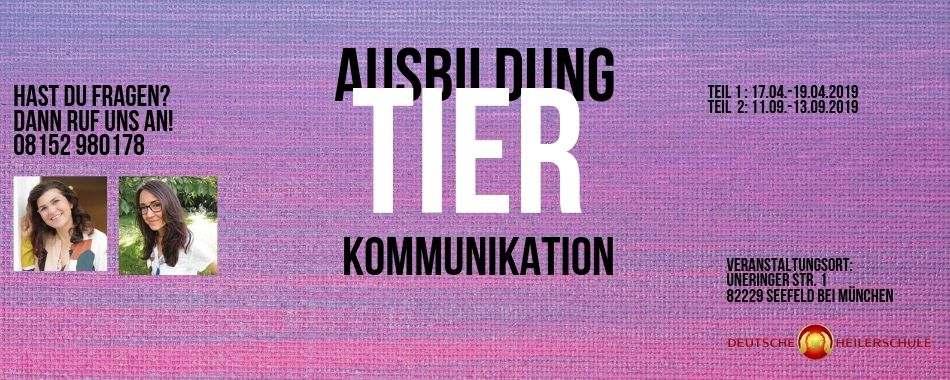 Ausbildung Tierkommunikation -deutsche Heilerschule